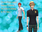 UtaPri Summer Uniform - TheSims4 CC by ng9
