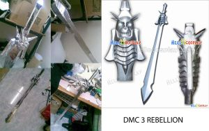 DMC3 REBELLION SWORD by karlonne