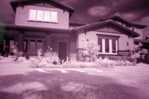 infrared redlands house by djqcookie