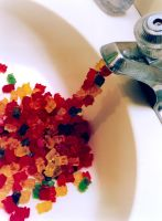 gummy flow - gummy bear sink by amberhlynn