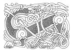 Random norse knotwork by Feivelyn