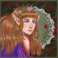 The forest lady by kozieBubble