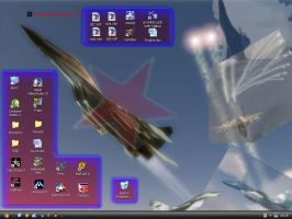 Mi escritorio de Windows XP UE by Kayrom