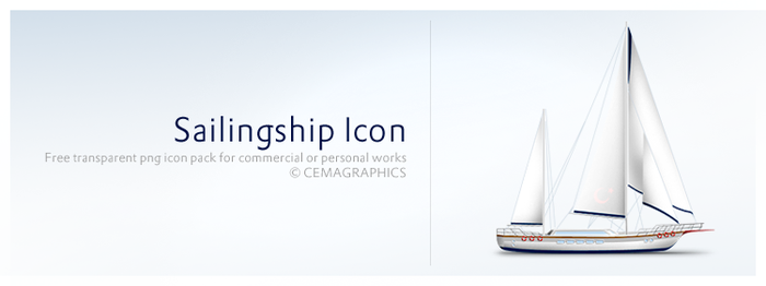 Sailingship Icon by cemagraphics