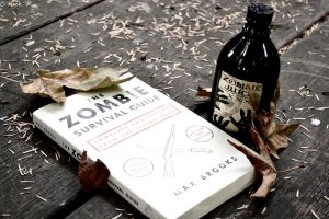 Zombie books and juice by musicismylife2010