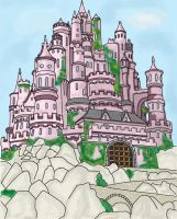 Fairy Tale Castle by lilleypants