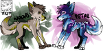 nature themed adopts 2/2 OPEN by Iucifre