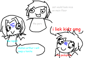 OMG ITS TEH BAD TOUHC TRIO by 07181997