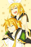 The Twins Kagamine by SorenElwind