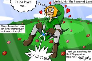 Little Link- The Power of Love by Blue-Dreamcatcher