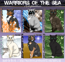 Warriors of the Sea Set 1 by Orceh