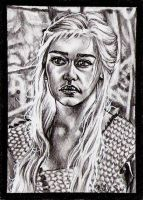 Daenerys - The Blood of the Dragon by vvveverka
