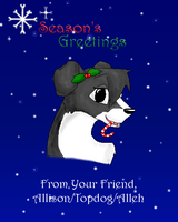 Christmas Card by T0pd0g