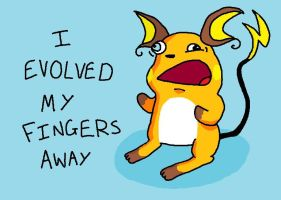 Raichu's disadvantage by doormatt74