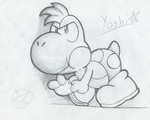 Yoshi by CyberTails63
