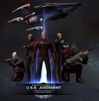 Updated Crew USS Judgement by PerilComics