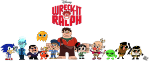 Wreck-It Ralph by DemoComics