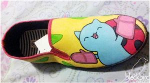 Catbug Shoe by GamerGirl84244