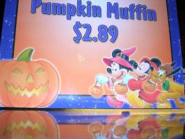 Pumpkin Muffin 2.89 by disneyland-stock