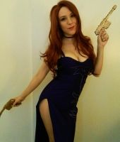 Secret Agent Miss Fortune cosplay LoL by Amberainbow
