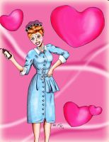 I Love Lucy by AshiviAlpha