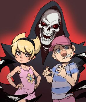 Billy And Mandy (remake) by ManiacPaint
