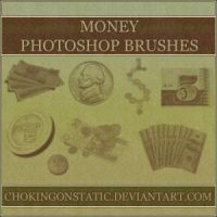 money brushes by chokingonstatic