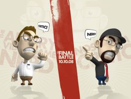 AVGN vs. NC - The Final Battle by smashmethod