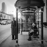 Long Coats and Bus Stops by jonniedee