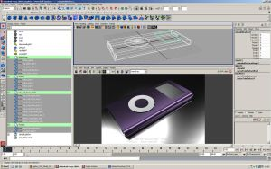 NURBS Ipod by Belzira