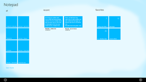 Notepad for windows 8 by RsrMusic