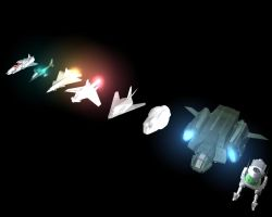 Current Fleet : Tauri by xxxmaniacmikexxx
