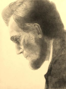 Daniel Day-Lewis as Abraham Lincoln by GlennD1961