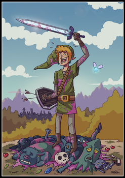 Link's Epic Journey by LuisFe87