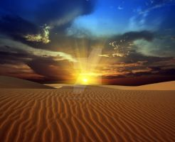 Desert sunset 4 by MotHaiBaPhoto