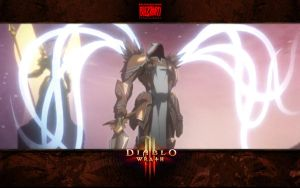 Diablo 3: Wrath #5 -  Tyrael Archangel of Justice by Holyknight3000
