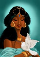 Her royal highness, the Sultana Jasmine of Agrabah by Tella-in-SA