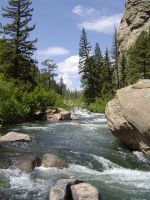 Eleven Mile Canyon by DragonWhisperer1