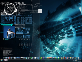 My Current Desktop 4-11 by quicksilver20