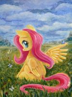 Fields Of Flowers by Maytee