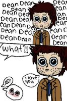 destiel hardcore by Breemania