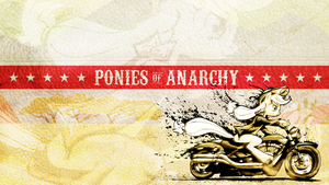 Mares of Mayhem - The Ponies of Anarchy by smokeybacon