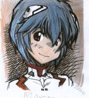 rei ayanami smile ii by elijarman