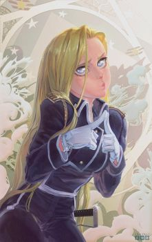 Olivier Mira Armstrong by froxalt