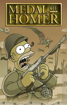 Medal of Homer by saimis32