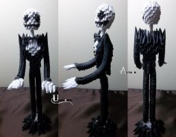 3D Origami - Jack Skellington by Jobe3DO