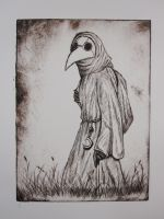 Plague Doctor by oroos
