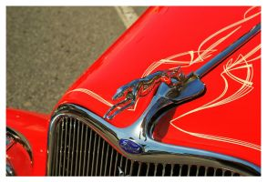 Hood Ornament on 1933 Ford by TheMan268