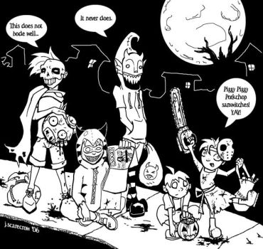 I Luv Halloween Fan Art Entry by jonathanscarecrow