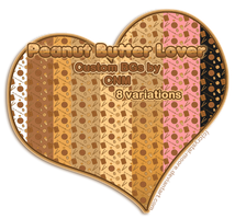 Peanut Butter Lover Custom BGs by CNM by Crystal-Moore